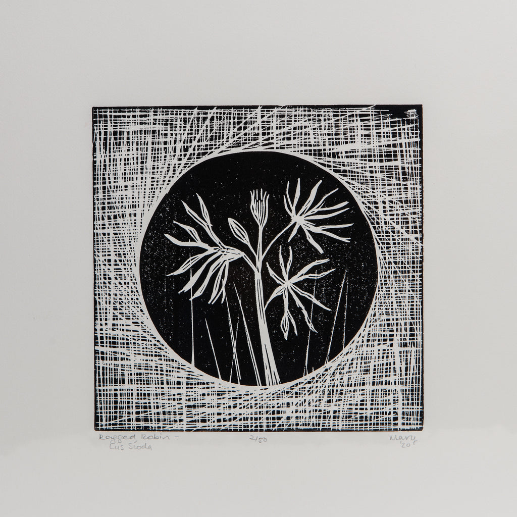 Wildflower Lino Print data-zoom=