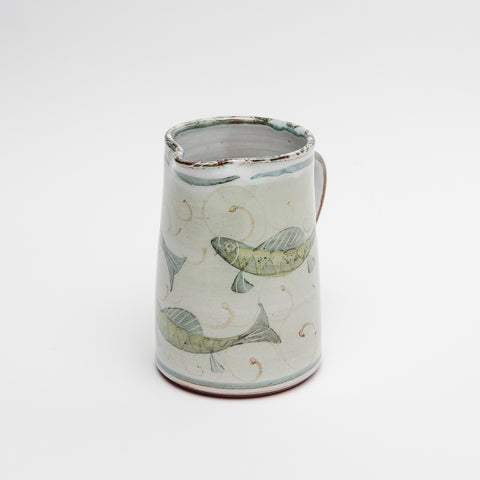 Mark Campden ceramic fish jug, Ceramic fish jug, Kilkenny craft