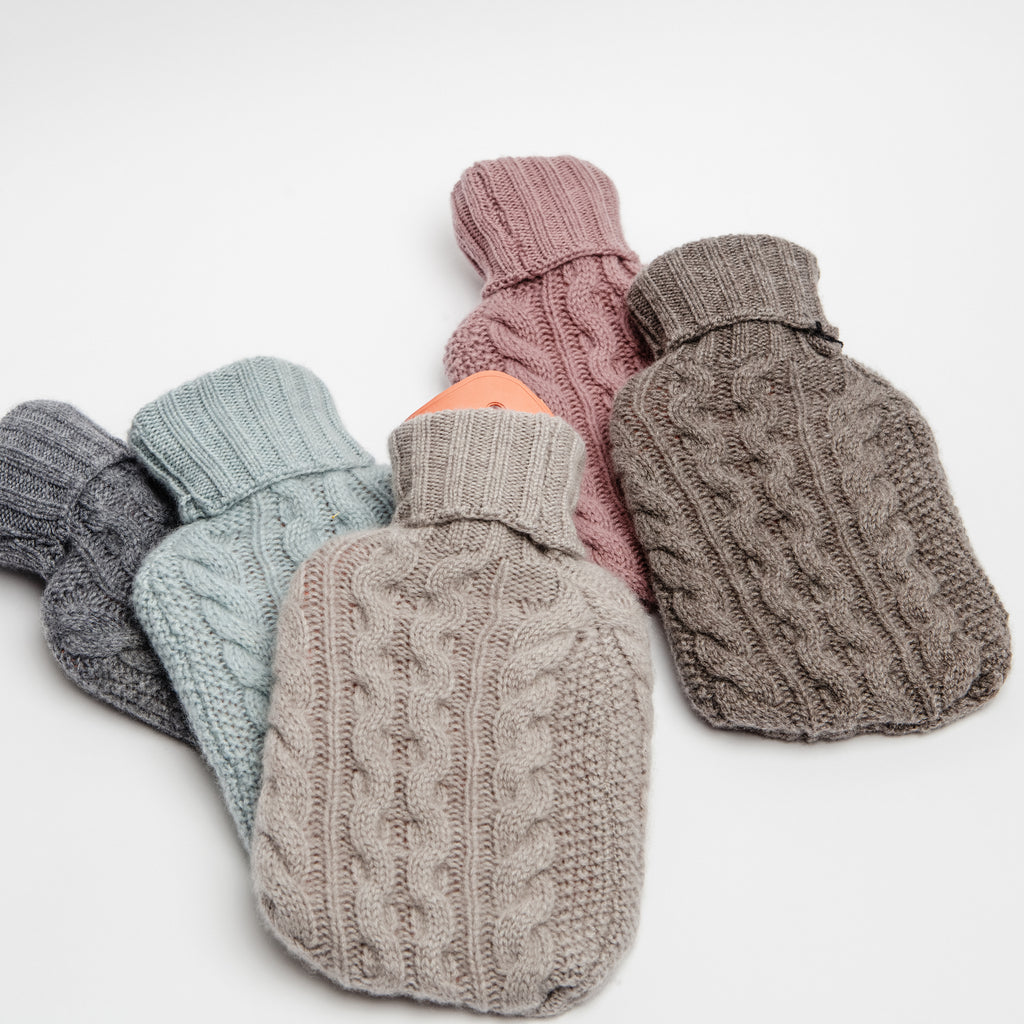 Irish made gift, Sustainable gift, Cashmere hot water bottle data-zoom=