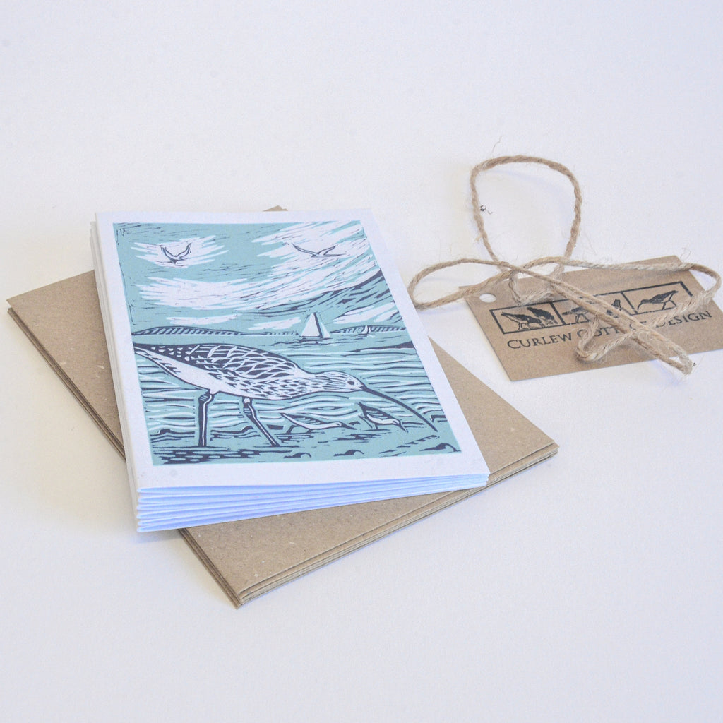 Curlew card pack - Irish Design Shop data-zoom=