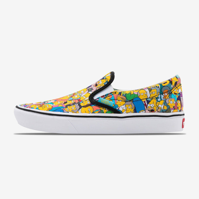 Simpsons UA ComfyCush Slip-On 'Springfield'