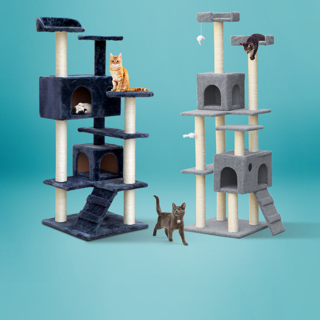 i.Pet Big Cat Tree Cat Tower Cat Scratching Post For Large Cats  iPet Pet Supplies Australia