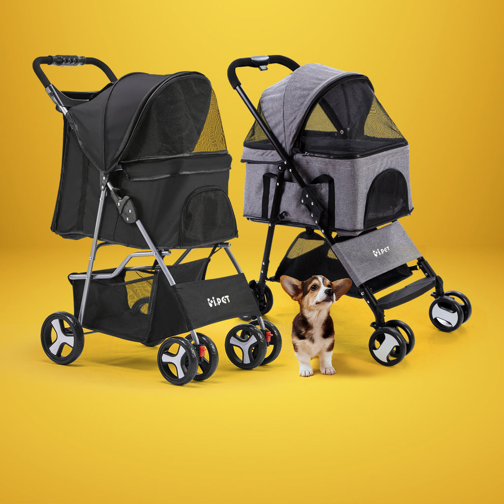 Dog Stroller Cat Stroller i.Pet Carrier Pet Supplies Australia