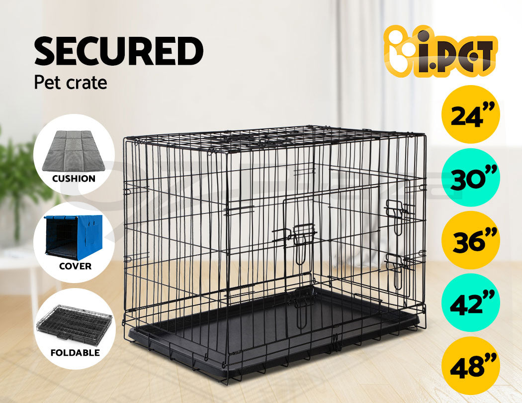 Dog crate cover cushion dog products i.Pet