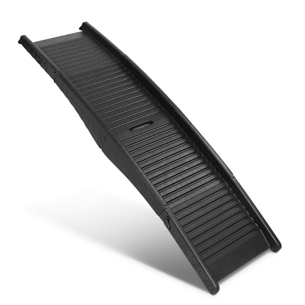 i.Pet Portable Folding Pet Ramp for Cars in Black - i.Pet Pet Supplies Australia