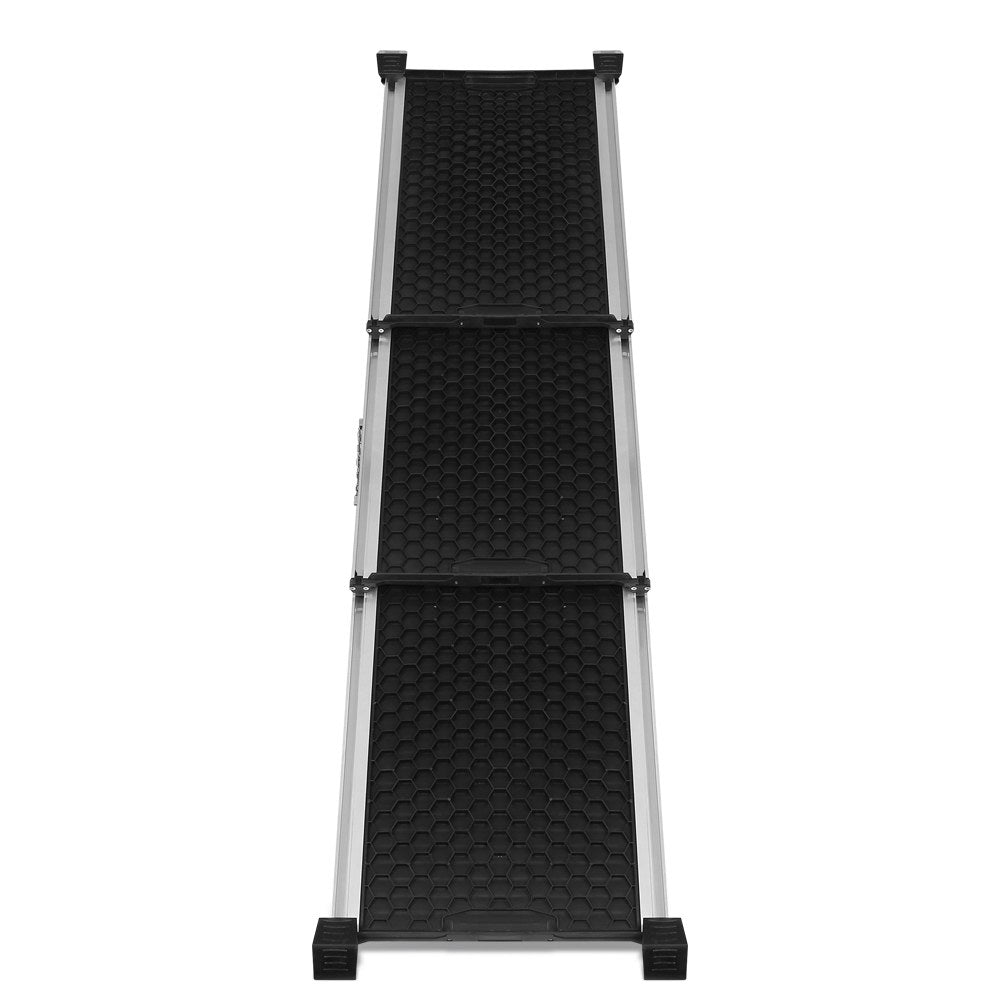 i.Pet Deluxe Aluminium Foldable Pet Ramp in Black - i.Pet Pet Supplies Australia