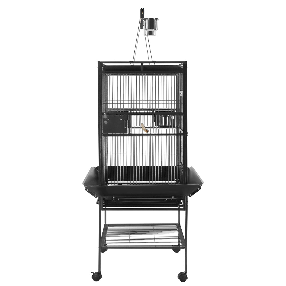 i.Pet Bird Cage Parrot Aviary with Stand alone Budgie - i.Pet