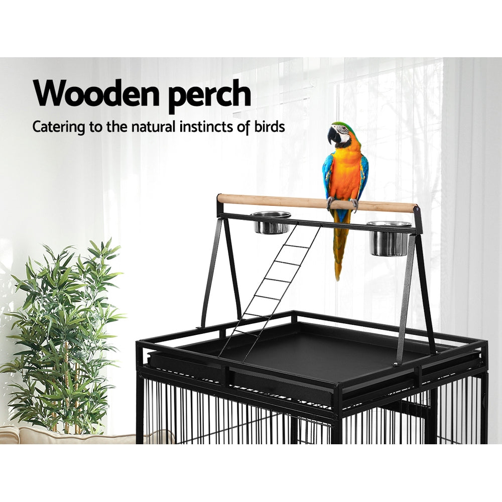 i.Pet Bird Cage Parrot Aviary with Stand alone Budgie - i.Pet Pet Supplies Australia