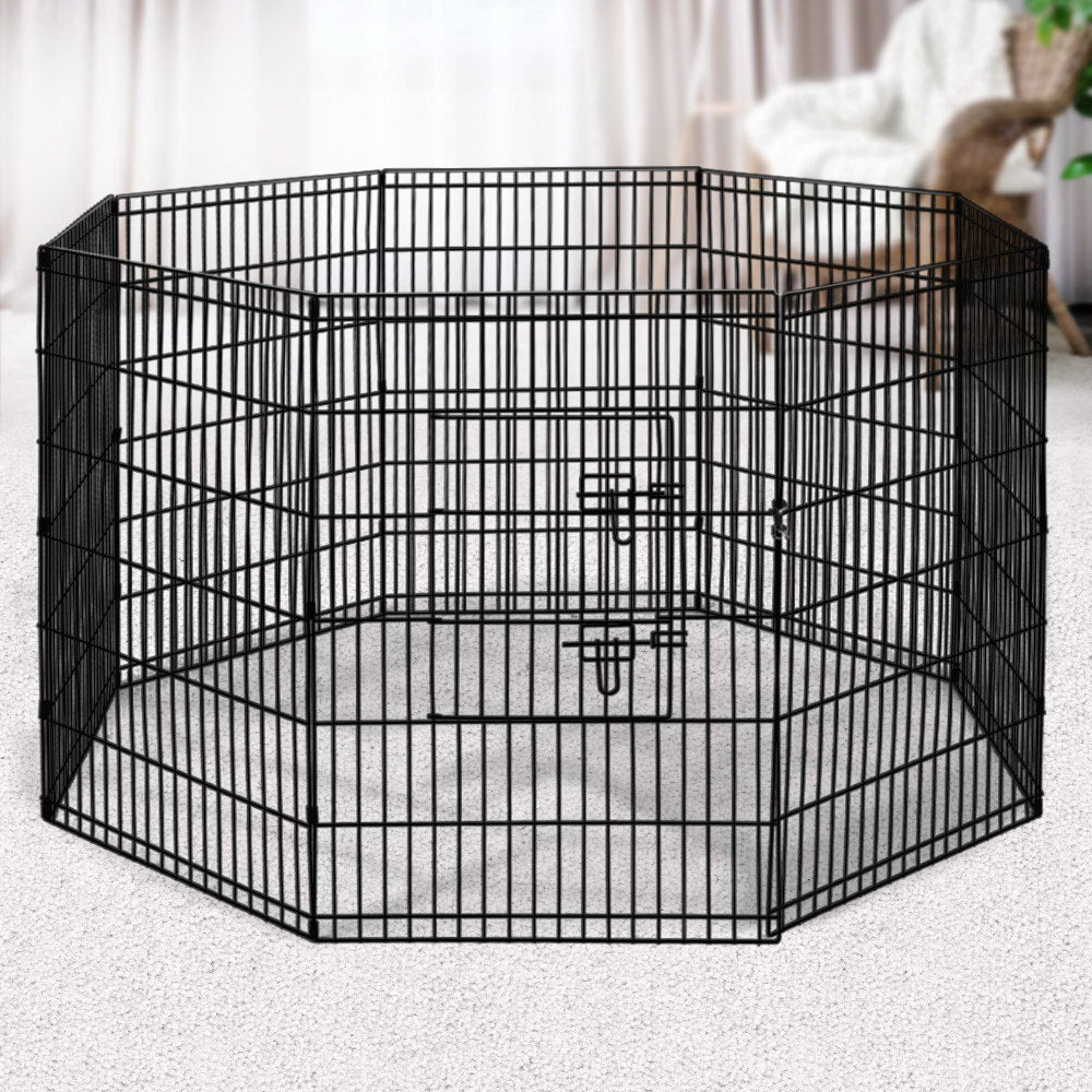 "i.Pet 8-Panel Pet Playpen for Dogs and Puppies (36"") - i.Pet"