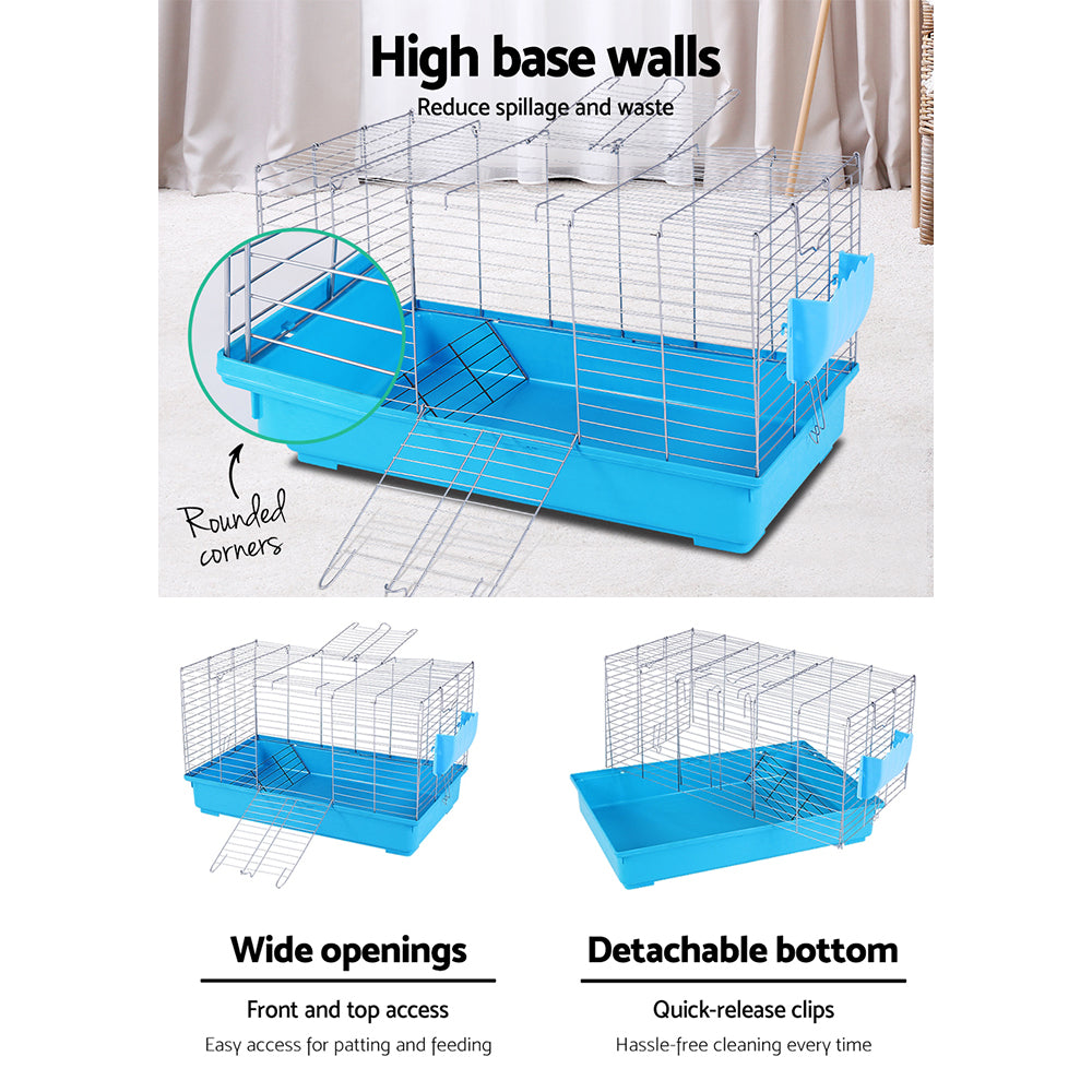 i.Pet Detachable Bunny Blue Cage - i.Pet Pet Supplies Australia