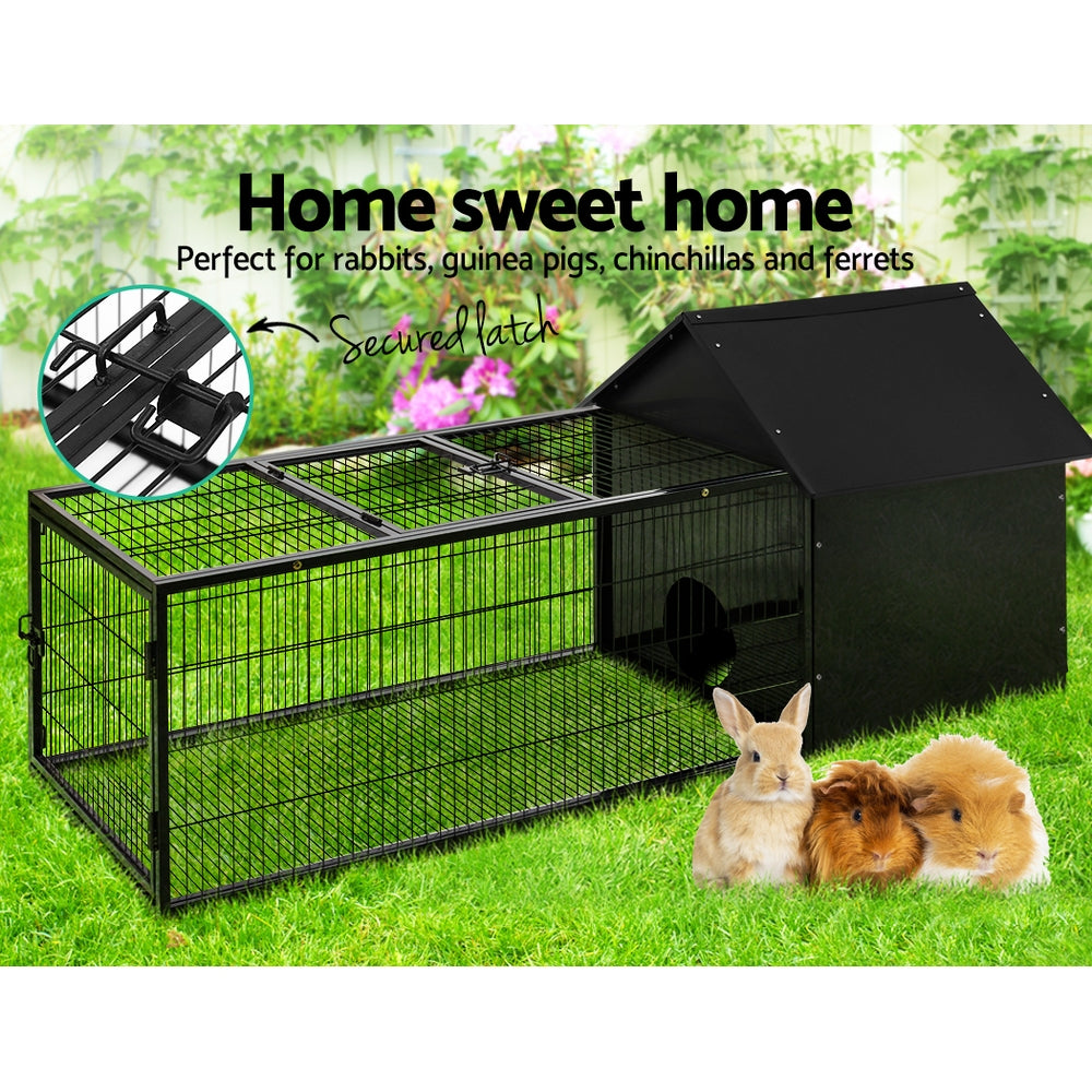 i.Pet Metal Cage Hutch (162CM Length) - i.Pet Pet Supplies Australia