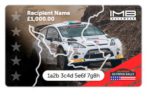 Olympus Rally Gift Card
