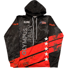 Load image into Gallery viewer, Olympus Rally - Dirtfish 2021 Pullover Hoodie