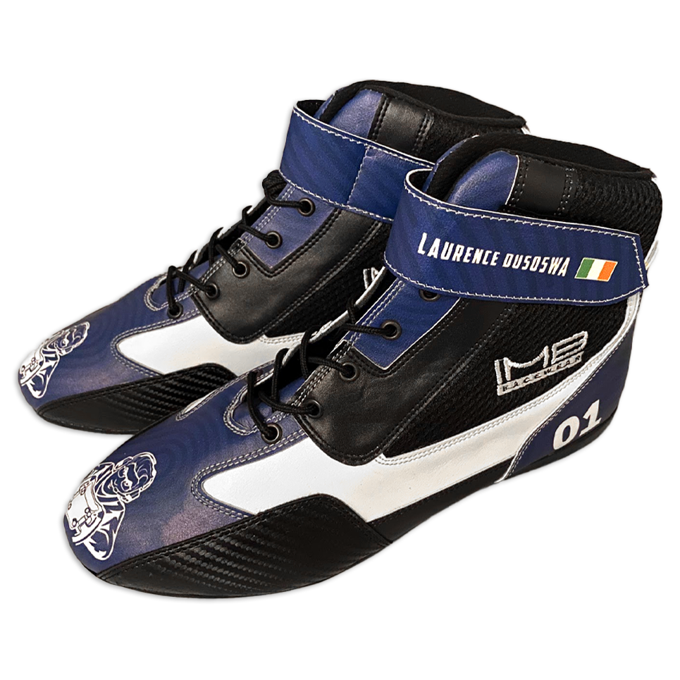 The Laurence Dusoswa SBC-1 Sim Racing Boots