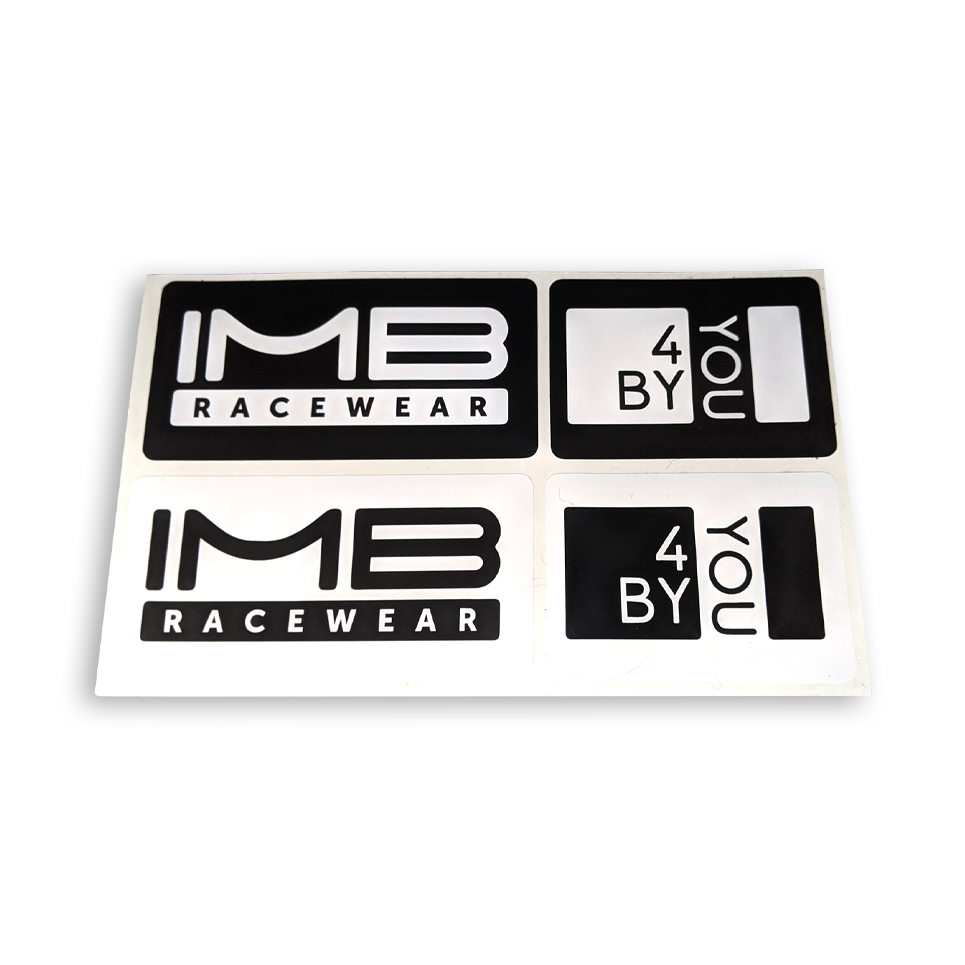 IMB Racewear Stickers