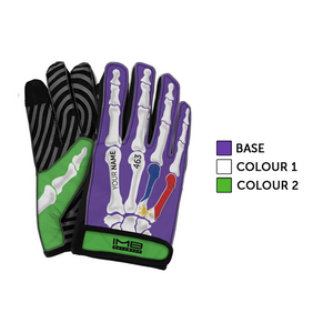 The Bones ESS-1 External Stitched Short Sim Racing Gloves