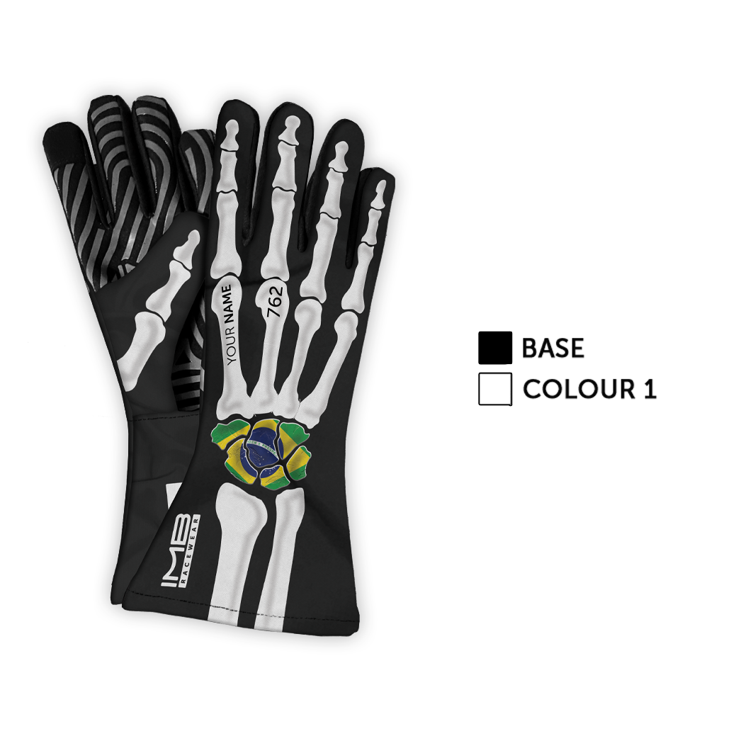 The Bones LSG-1 Long Sim Racing Gloves