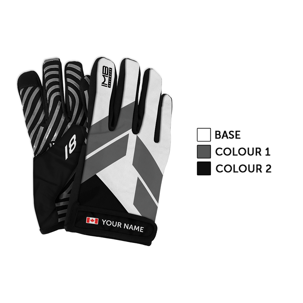 The Flights SSG-1 Short Sim Racing Gloves