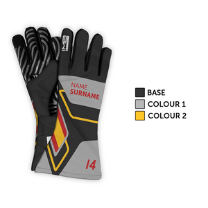 The MPH LSG-1 Long Sim Racing Gloves