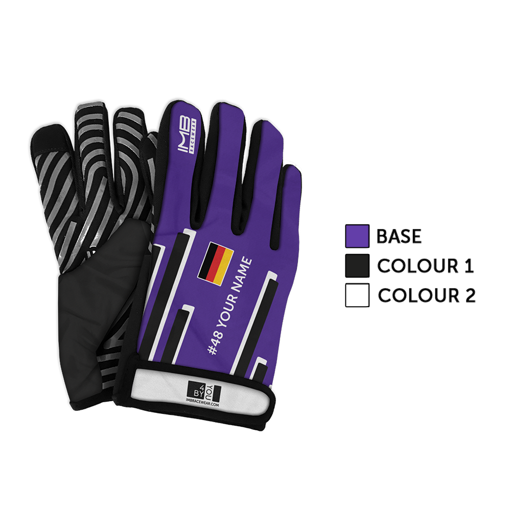 The Racing Lines SSG-1 Short Sim Racing Gloves