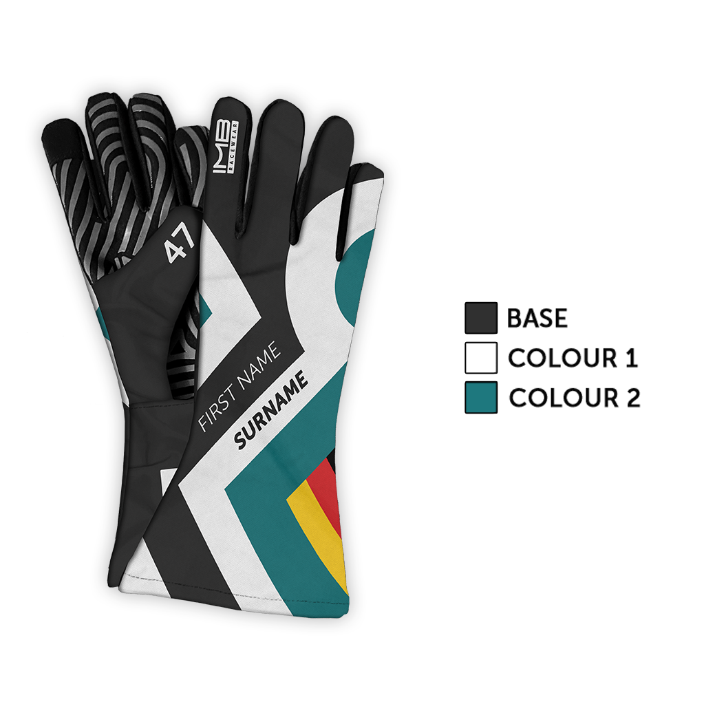 The RK2.0 LSG-1 Long Sim Racing Gloves