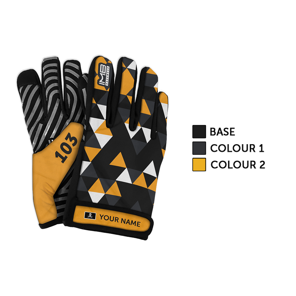 The Society SSG-1 Short Sim Racing Gloves
