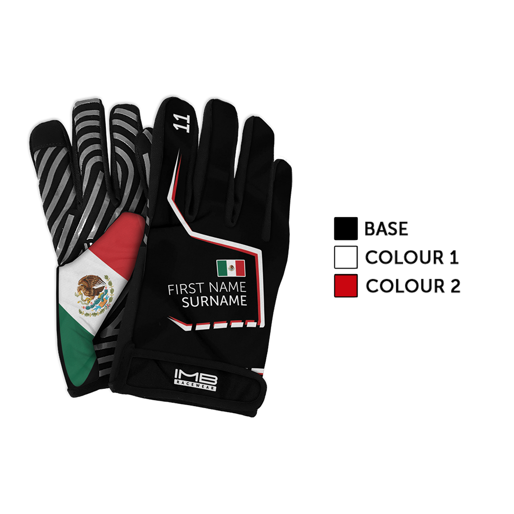 The Stitched SSG-1 Short Sim Racing Gloves