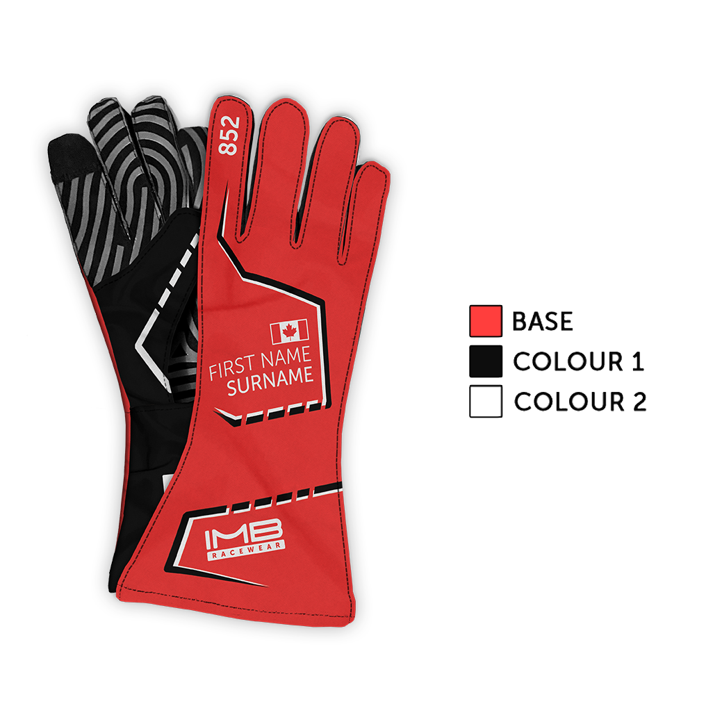 The Stitched ESG-1 External Stitched Long Sim Racing Gloves