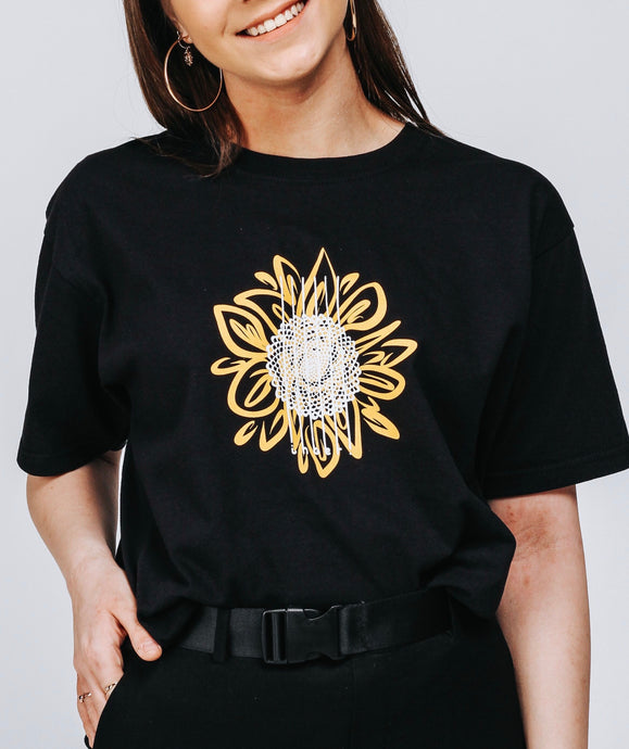 Sunflower Black T-shirt