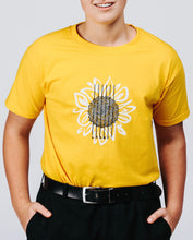 Load image into Gallery viewer, Sunflower Yellow T-shirt