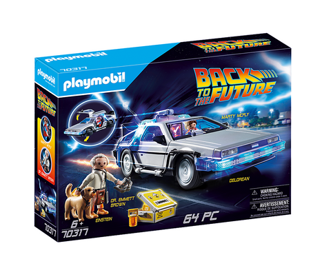 Playmobil 70317 - Back to the Future DeLorean mit Doc Brown & Marty Mcfly