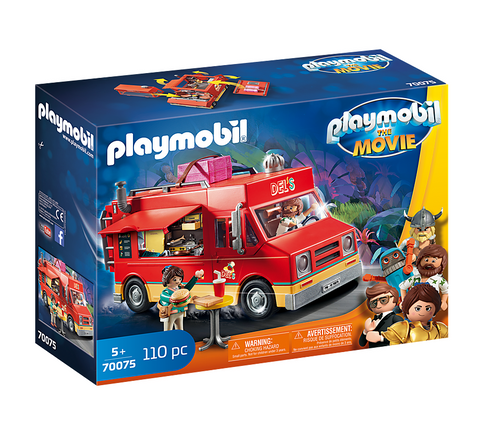 Playmobil 70075 - The Movie Del's Food Truck - Imbiss Burger Wrap Fast Food
