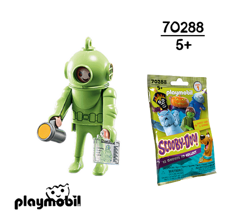Playmobil 70288 Ghost of Captain Cutler Scooby Doo! Mystery Figures (Serie 1) 👻