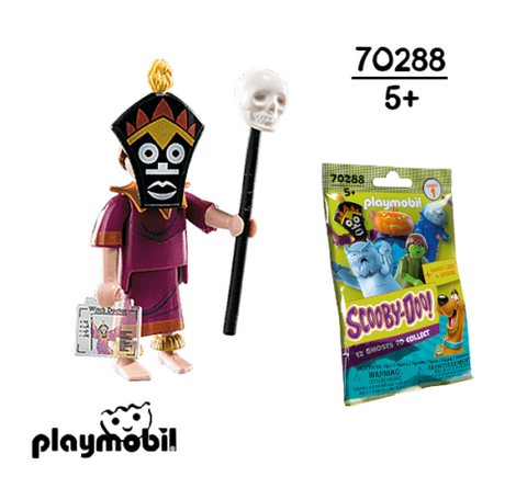 Playmobil 70288 - Witch Doctor Scooby Doo! Mystery Figures (Serie 1) 👻