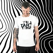 Fitness functional Shirt ♂ MIRROR-Print // LIFT THAT SHIT