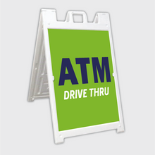 Load image into Gallery viewer, ATM Drive Thru A-Frame