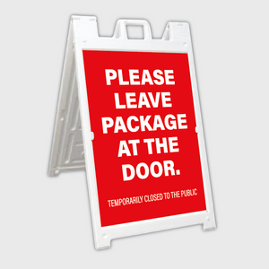 Leave Package A-Frame