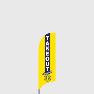 Takeout Feather Flag Kit