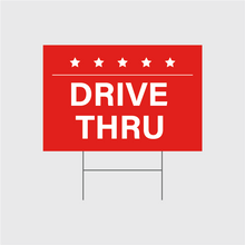 Load image into Gallery viewer, Drive Thru Signs w/Stands