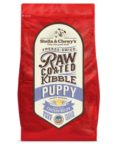 Stella & Chewy's Raw Coated Kibble - Puppy (Chicken) Recipe