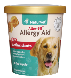 Naturvet Soft Chews - Aller-911® Allergy Aid Plus Antioxidants 70ct
