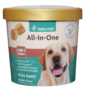 Naturvet Soft Chews - All-In-One (4-IN-1 Support) 60ct