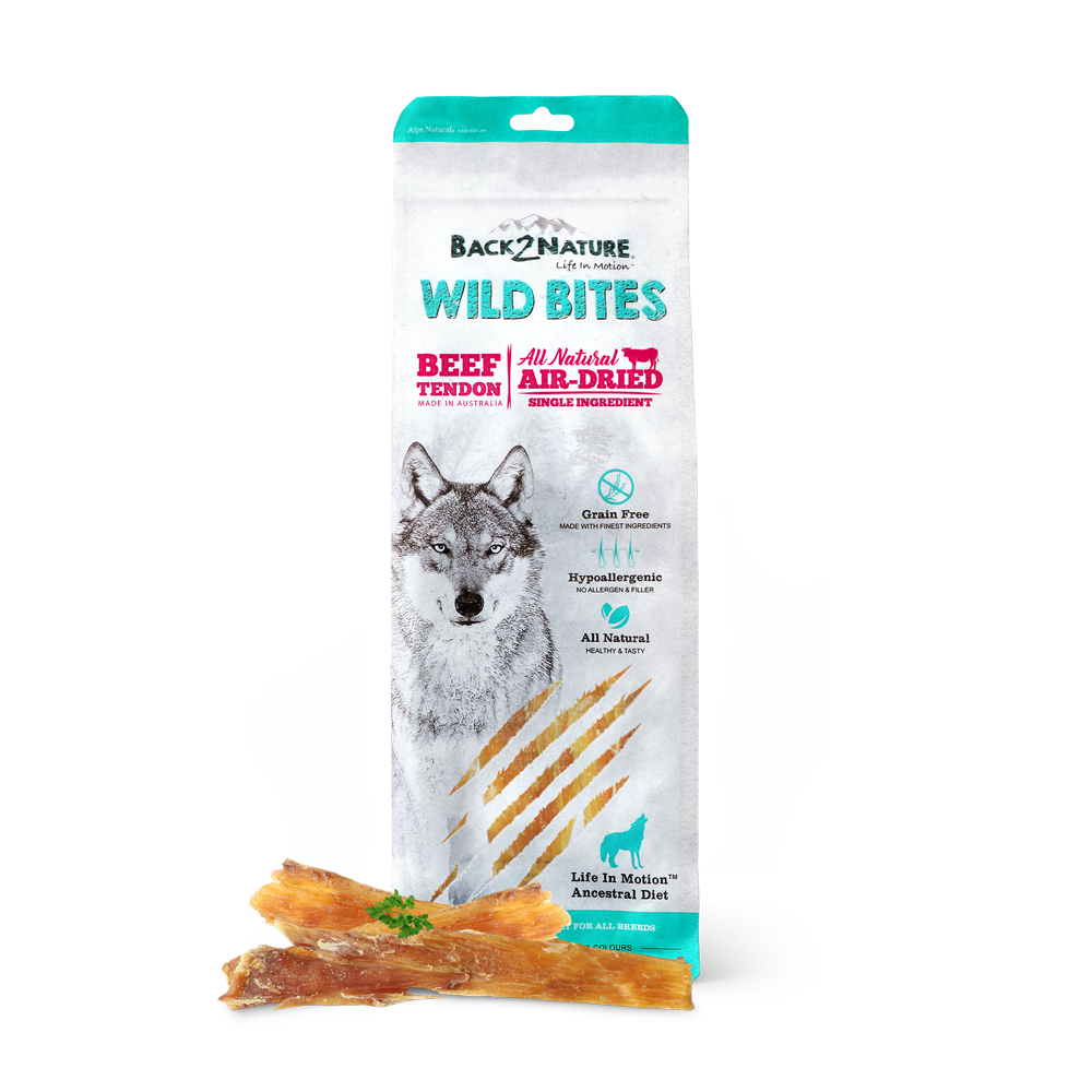 Back2Nature Wild Bites - Beef Tendon 125g
