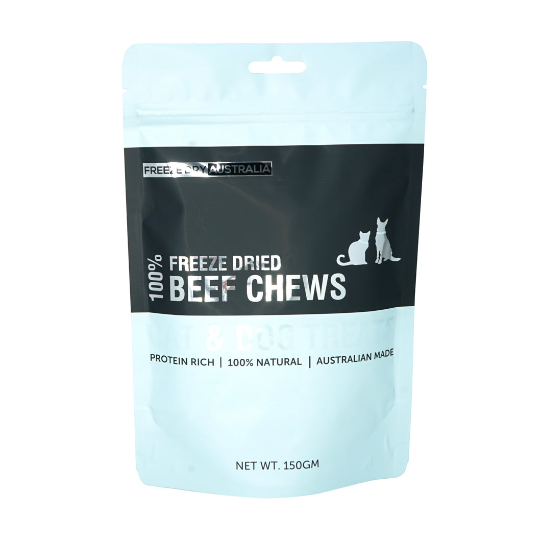 Freeze Dry Australia - Freeze Dried Beef Chews (150g)