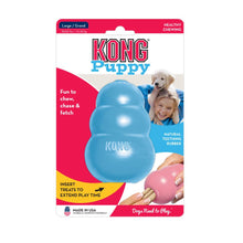 Load image into Gallery viewer, KONG® Puppy Toy (L) (Blue/Pink)