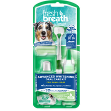 Load image into Gallery viewer, Tropiclean Fresh Breath - Advanced Whitening Oral Care Kit with 3D Micro Guard (S/ML)