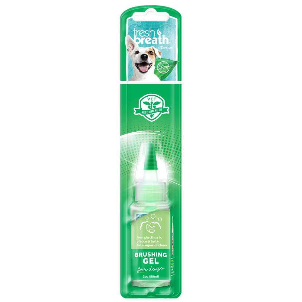 Tropiclean Fresh Breath - Clean Teeth Brushing Gel 2 oz