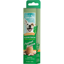 Load image into Gallery viewer, Tropiclean Fresh Breath - Clean Teeth Gel 2 fl. oz. (Berry Fresh/Peanut Butter/Vanilla Mint)
