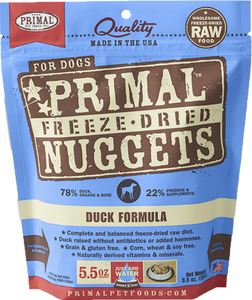 Primal Freeze-Dried Nuggets - Duck Formula