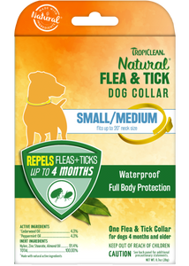 Tropiclean Natural Flea & Tick - Dog Collar (SM/L)